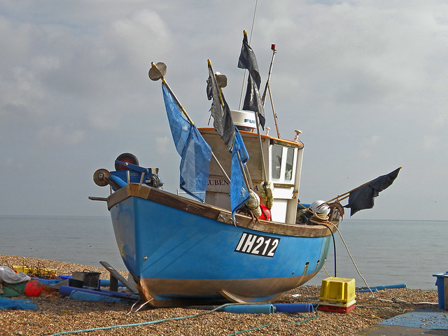 Postcards from Aldeburgh - Fishing Boats