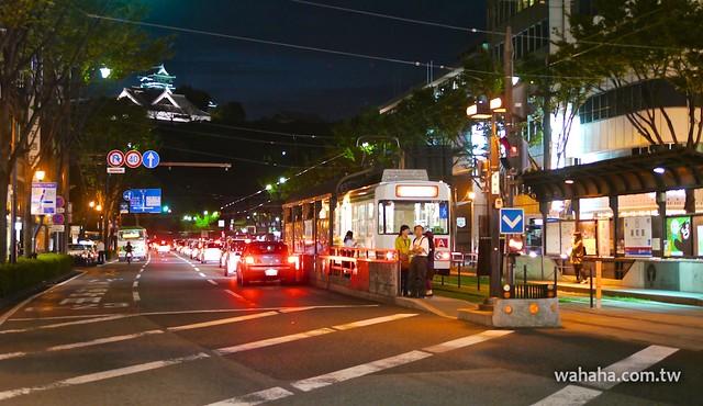 熊本市電&熊本城