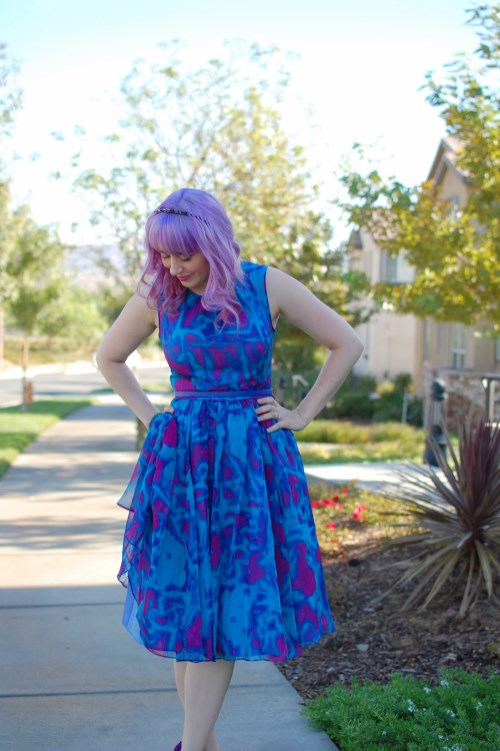 Modcloth Geode Bright On Schedule dress 005