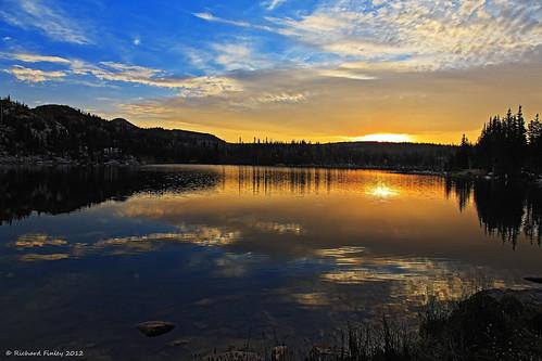 sunrise mirrorlake wyoming snowyrange centenial medicinebow explored