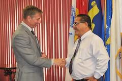 IMCOM Central Regional Director Visit Sept. 2014