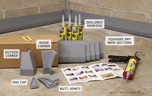 An Inexpensive Basement Waterproofing Option - Erin Spain