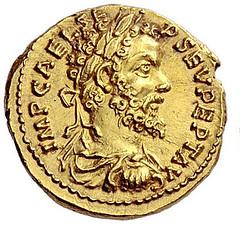 Coin of Pescennius Niger