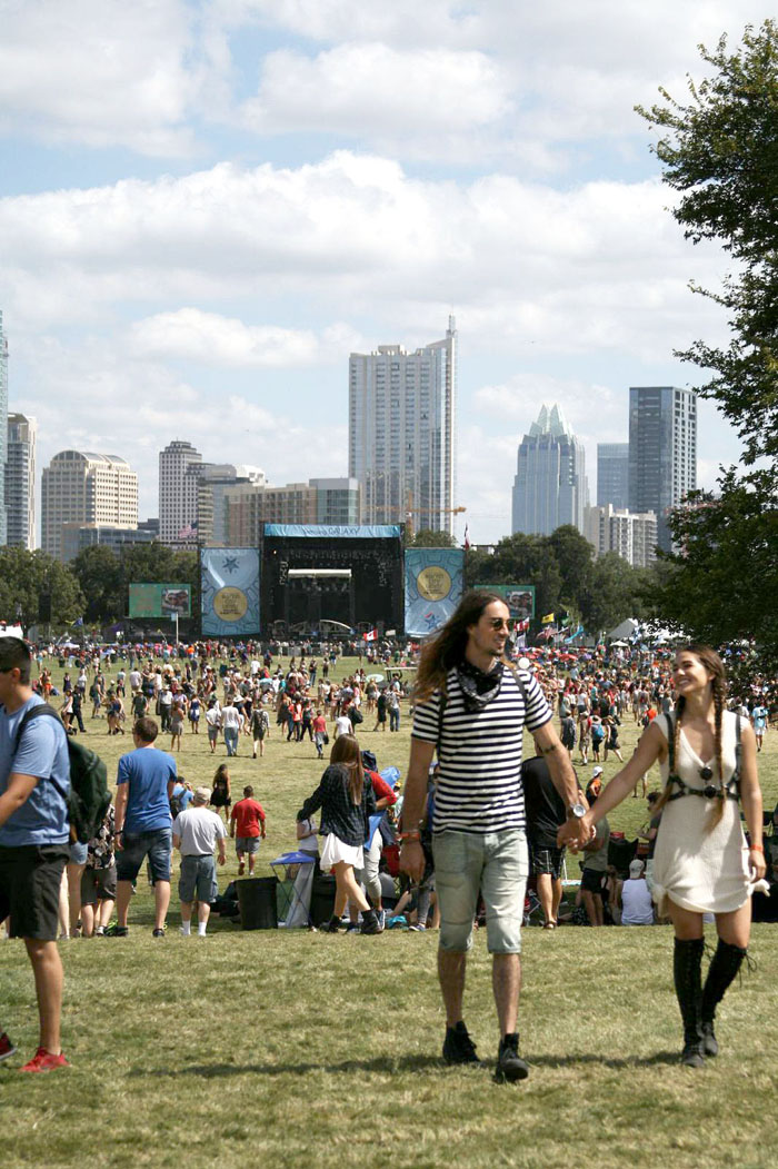 Fringe of the Cro at ACL festival fashion