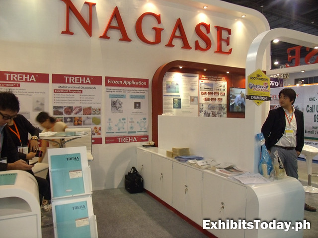 Nagase exhibit booth