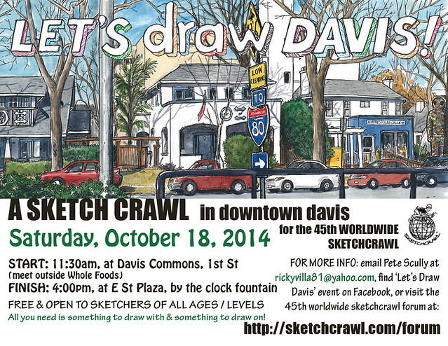let's draw davis oct 18, 2014