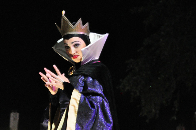 The Evil Queen at MNSSHP
