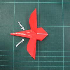 วิธีพับกระดาษเป็นรูปแมลงปอ (Origami Dragonfly) 021