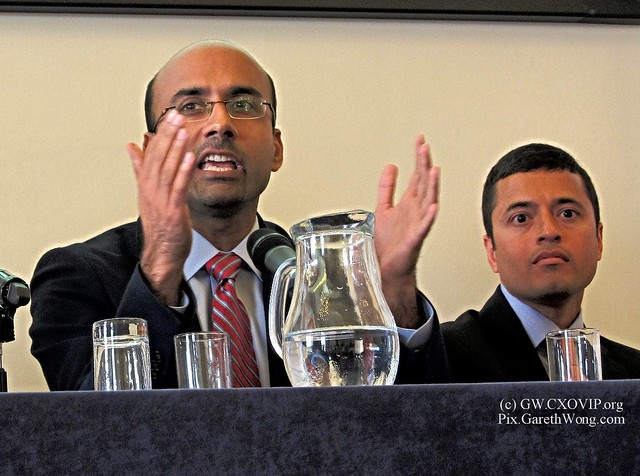 Professors Atif Mian and Amir Sufi - authors of House of Debt, IMG_1361 @ProfSufi @AtifRMian