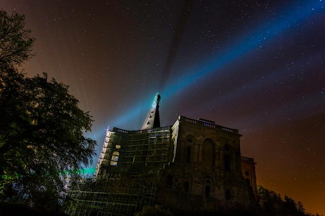 kassel herkules bei nacht