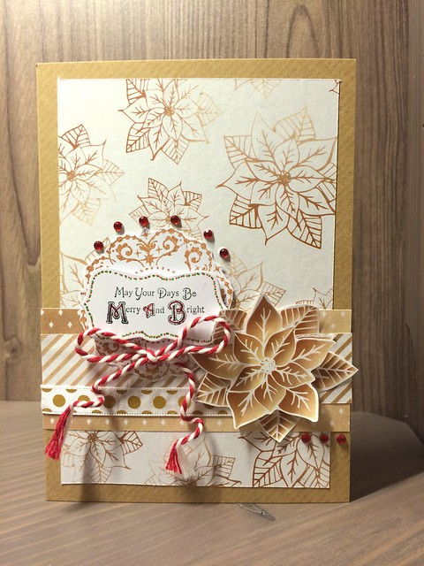 Champagne Christmas download paper card