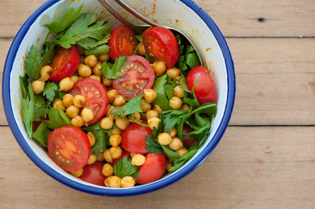 spiced chickpea salad-2