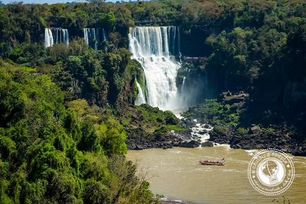 Boat Ride Iguazu Falls Brazil