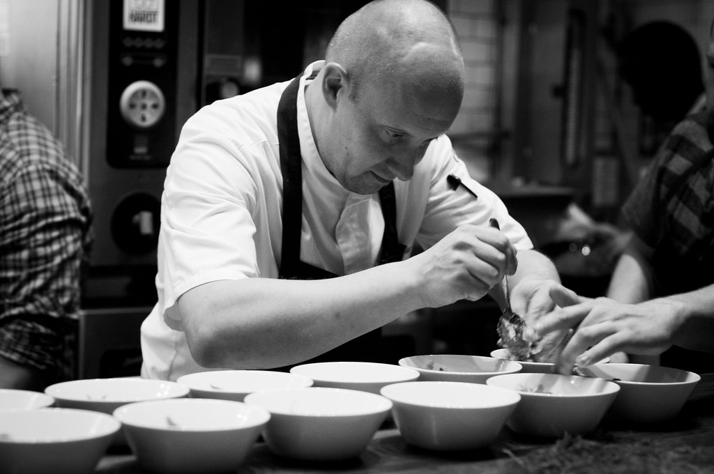Chef Sasu Laukkonen Plating