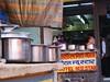 Regular customer to eat tali in Varanasi.