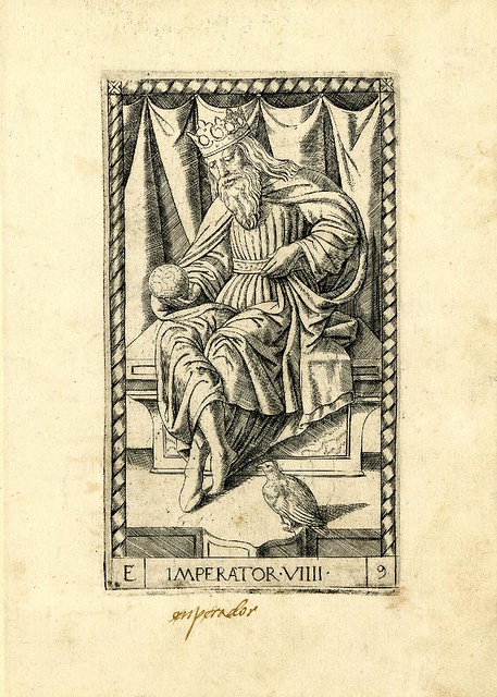 006-El emperador-Tarot Mantegna-© The Trustees of the British