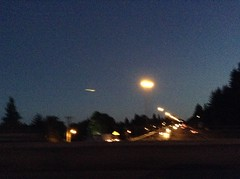 Seeing the I-5 South while driving on Custer Way SW. in Tumwater, WA 9-13-14.