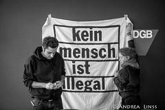 Refugee struggle for freedom  Zweiter Tag Besetzung DGB Haus