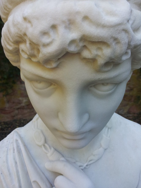 Demon statue