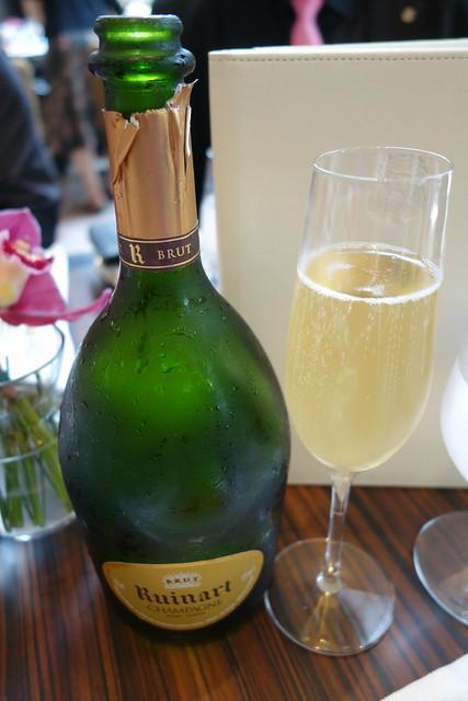 R de Ruinart Champagne (Brut) at Brasserie Les Saveurs, St. Regis Singapore