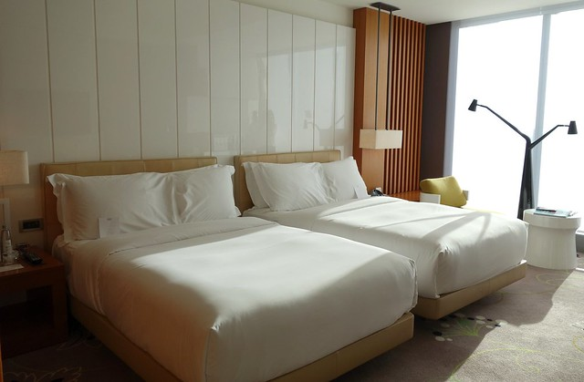 Twin Beds at W Taipei - Sep 2014