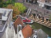 Oudegracht from above