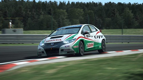 R3E WTCC Honda Civic