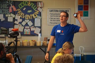 Scott is sharing at #edCampBarrie
