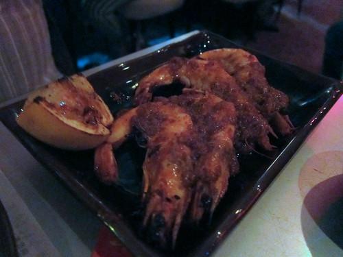 Peel and Eat Szechuan Shrimp
