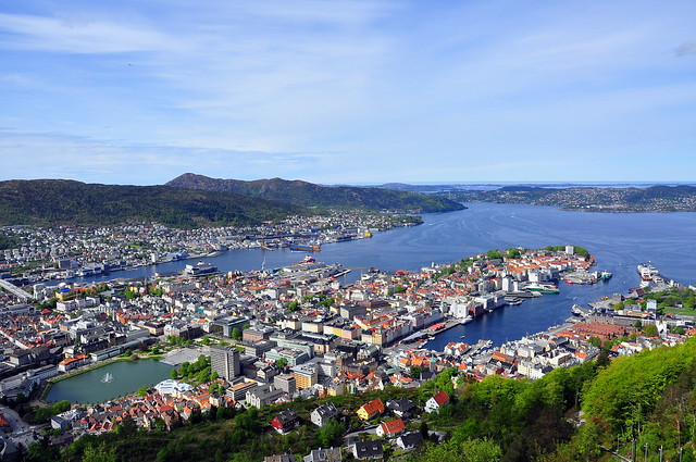Bergen city, Norway
