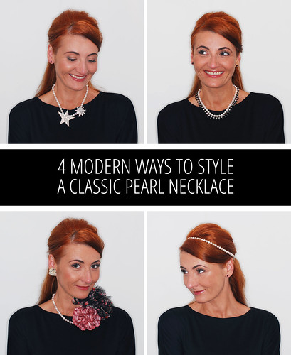 4 Modern Ways to Style a Classic Pearl Necklace