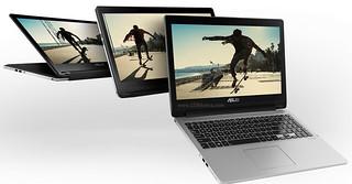TP550 Laptop độc đáo lật xoay 360 độ - 38125