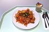 Kartoffel-Gemüsepfanne mit Fisch & Meeresfrüchten / Potato vegetable stew with fish & seafood