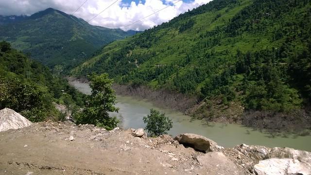 Arniko Highway landslide & flood damage