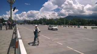 Potala Palace highway
