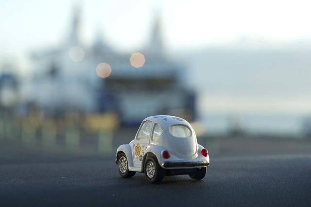 La petite voiture a été voyage