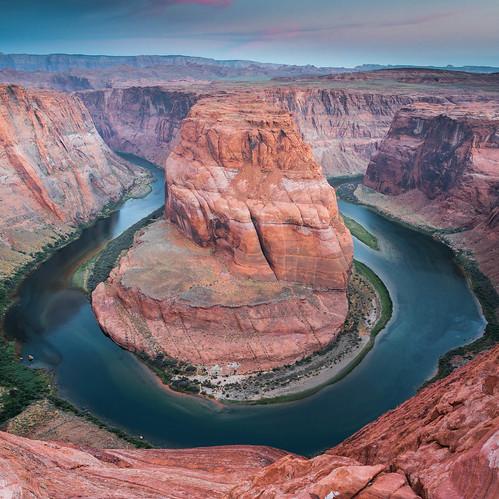 arizona utah canyon page glencanyon horseshoebend