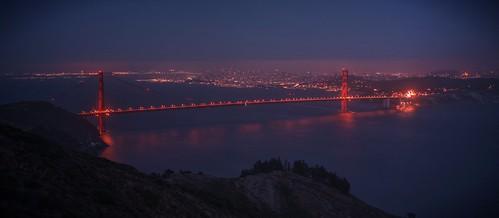 sanfrancisco blue red night raw goldengatebridge goldengate hazy sausalito hdr marinheadlands photomatix fav200 1xp nex6 selp1650