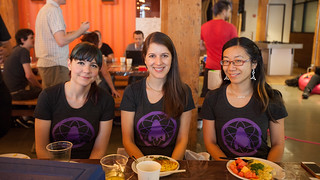The Science Hack Day girls!