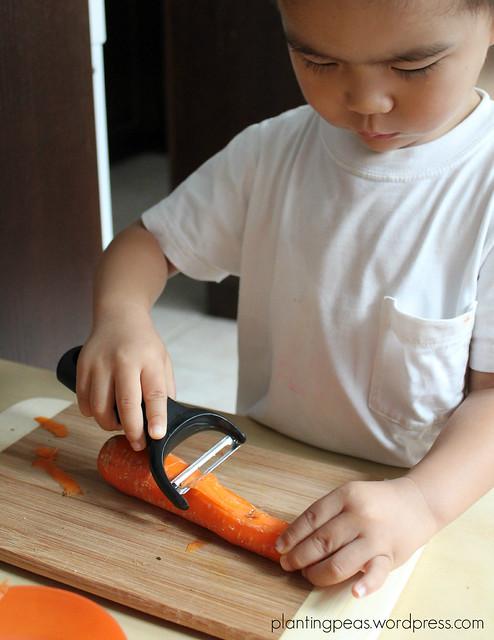 peeling carrots 2