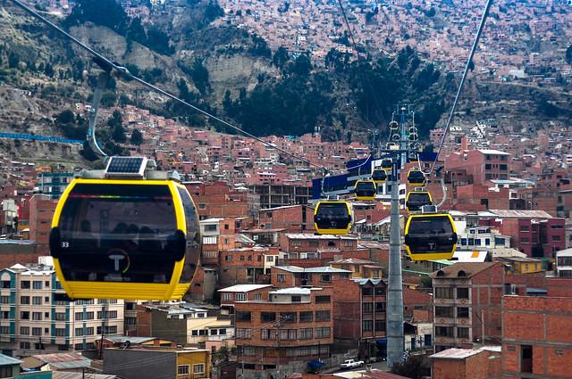 """""""Mi teleférico"""" 4 La Paz, BOlivia"""