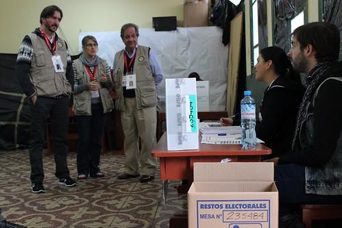 Misión de Observación Electoral de la OEA en Perú visitó centros de votación