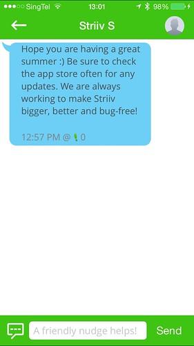 Striiv iOS App - Chat
