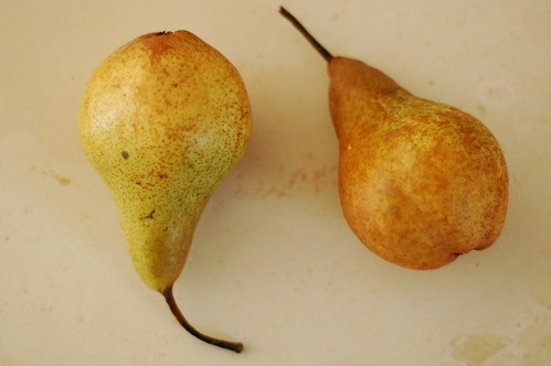 Pears from Migliorelli Farm by Eve Fox, The Garden of Eating, copyright 2014