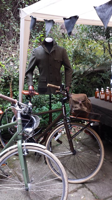Edinburgh Harris Tweed Ride at Walker Slater 2014