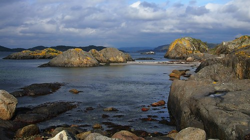 seascape nature norway landscape northseatrail