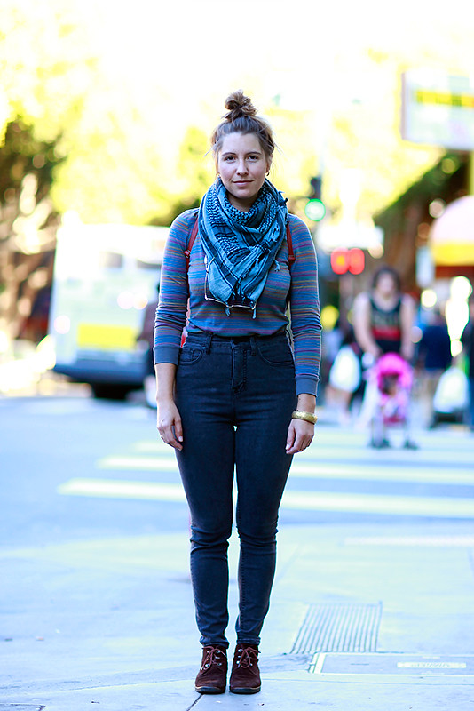chrissie Quick Shots, San Francisco, street fashion, street style, women, 24th Street