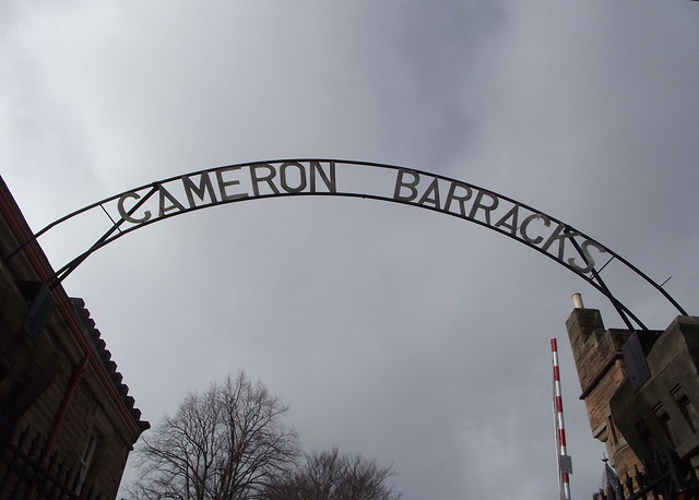 Cameron Barracks Inverness Scotland