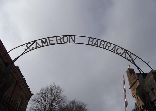 Cameron Barracks Inverness Scotland
