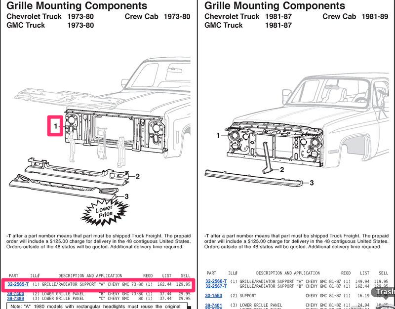 1978 chevy c10 radiator